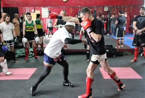KickB boxing